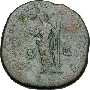 reverse: Clodius Albinus (195-197).. AE Sestertius, 194-195 AD