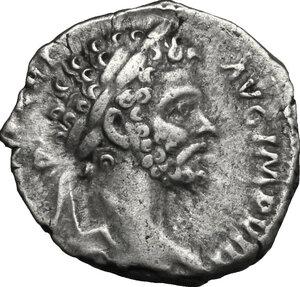 obverse: Septimius Severus (193-211) . AR Denarius, 196-197 AD