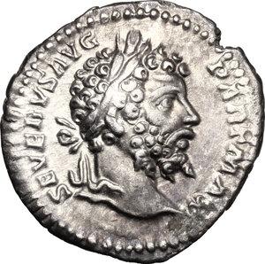 obverse: Septimius Severus (193-211).. AR Denarius, 200-201