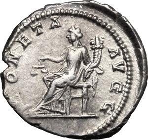 reverse: Septimius Severus (193-211).. AR Denarius, 200-201