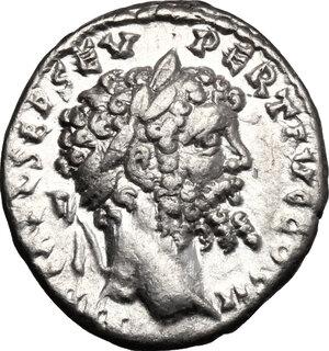 obverse: Septimius Severus (193-211).. AR Denarius, 194-195