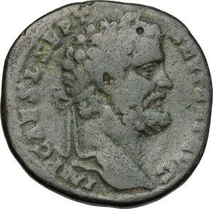 obverse: Septimius Severus (193-211).. AE Sestertius, 193 or 194 AD
