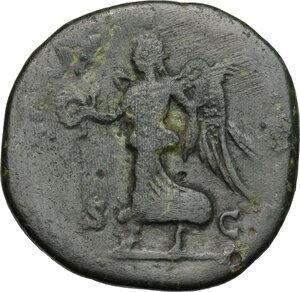 reverse: Septimius Severus (193-211).. AE Sestertius, 193 or 194 AD