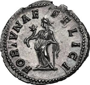 reverse: Julia Domna, wife of Septimius Severus (died 217 AD).. AR Denarius, struck 207-211 AD