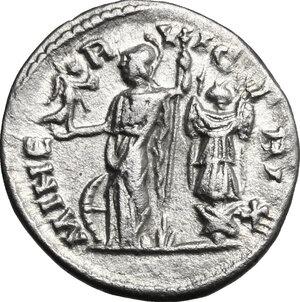 reverse: Caracalla (198-217). AR Denarius, 199 AD