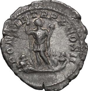 reverse: Caracalla (198-217). AR Denarius, 207 AD
