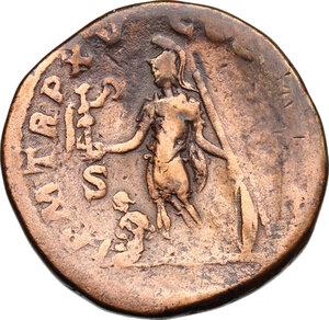reverse: Caracalla (198-217).. AE Sestertius, 212 AD