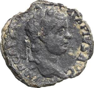 obverse: Geta (209-212).. BI cast As, Gallia. 210 AD