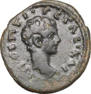 obverse: Geta (198-212).. AE 17 mm, Bythinia, Nicaea mint, 198-209