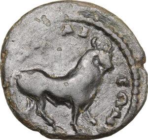 reverse: Geta (198-212).. AE 17 mm, Bythinia, Nicaea mint, 198-209