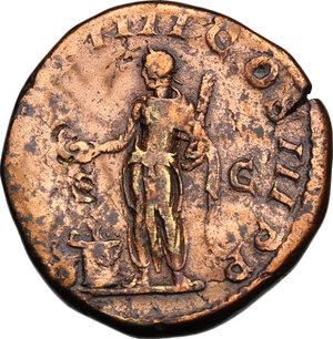 reverse: Elagabalus (218-222).. AE Sestertius, 221 AD