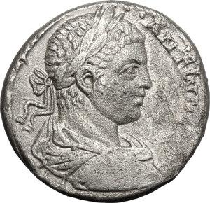 obverse: Elagabalus (218-222) (?). BI Tetradrachm, Antioch mint