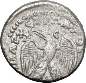 reverse: Elagabalus (218-222) (?). BI Tetradrachm, Antioch mint