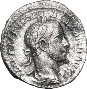 obverse: Severus Alexander (222-235).. AR Denarius, 226 AD