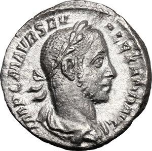 obverse: Severus Alexander (222-235).. AR Denarius, 228 AD