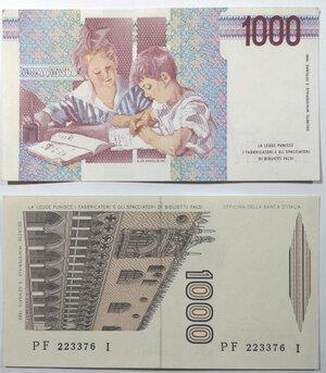 reverse: Banconote. Repubblica Italiana. lotto di 2 pezzi: 1.000 lire Montessori, 1.000 lire Marco Polo.