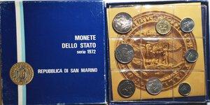 obverse: San Marino. Serie Divisionale annuale 1972. Maternità.