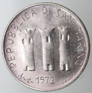 obverse: San Marino. 500 lire 1972. Ag.
