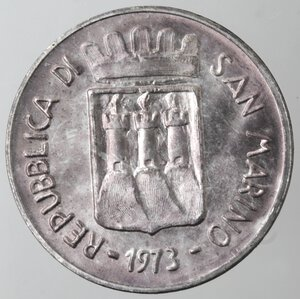 obverse: San Marino. 500 lire 1973. Ag.