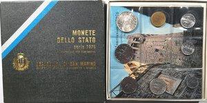 obverse: San Marino. Serie divisionale annuale 1976.