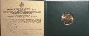 obverse: San Marino. 1000 lire 1977. Ag. V Centenario della nascita di Brunelleschi.