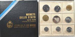 obverse: San Marino. Serie divisionale annuale 1979 Gli organi istituzionali dello Stato.