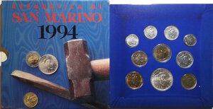 obverse: San Marino. Serie divisionale annuale 1994 Marino il Santo.