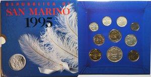 obverse: San Marino. Serie divisionale annuale 1995 Impegno civile per il terzo millennio.