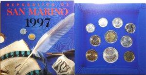 obverse: San Marino. Serie divisionale annuale 1997 L uomo verso il terzo millennio.