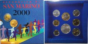 obverse: San Marino. Serie divisionale annuale 2000 L uomo verso il terzo millennio.
