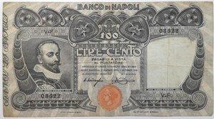 obverse: Banconote. Banco Di Napoli. 100 lire Tasso.