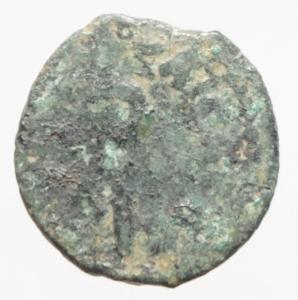 obverse: Impero Romano. Tiberio (14-37). Prutah, AE 16 mm. Palestina. Procuratore Ponzio Pilato, 30 d.C. D/ TIBEPIOY KAICAPOC. Lituo. R/ LIZ (= anno XVII) entro corona. RPC 4968. gr. 2.60 R. AE.MB+.