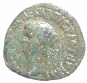 obverse: Impero Romano.Claudio .Asse.Peso 7,55 gr.MB.ra