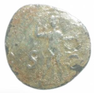 reverse: Impero Romano.Claudio .Asse.Peso 7,55 gr.MB.ra