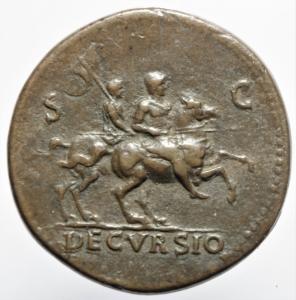reverse: Impero Romano .Nerone 54-68 d.C. Sesterzio di G.Cavino detto