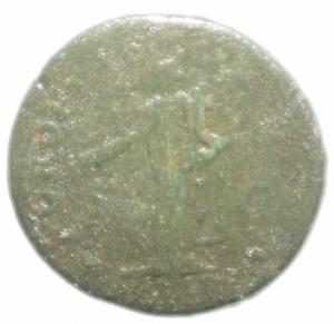 reverse: Impero Romano.Traiano . Dupondio.ALIM ITAL.Peso 12,35 gr.MB.ra