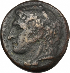 obverse: Mondo Greco.Sicilia. Siracusa. Pirro (278-276 a.C.). AE 23mm. g. 10.00.MB.Ex Artemide 12x lotto 35-ar