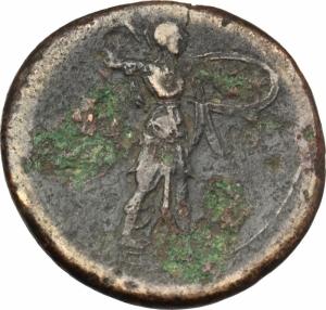 reverse: Mondo Greco.Sicilia. Siracusa. Pirro (278-276 a.C.). AE 23mm. g. 10.00.MB.Ex Artemide 12x lotto 35-ar