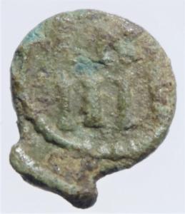 reverse: I Vandali. Ilderico. 523-530 d.C. Nummo. D/ Busto di Cartagine verso sinistra. R/ N/III in corona. Peso 0,80 gr. Diametro 10,49 mm. Arslan 23.BB+....