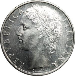 reverse: Repubblica Italiana. 100 Lire 1961 ottimo qFDC. rf