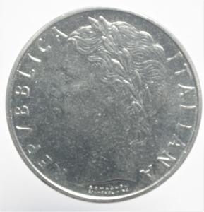reverse: Repubblica Italiana. 100 Lire 1965. qFDC