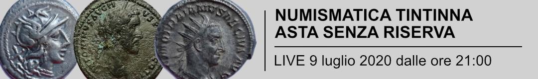 Banner Tintinna - Asta Senza Riserva