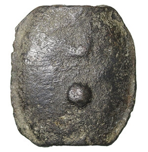 reverse: Umbria. 225-213 BC. AE Aes Grave Sextans. 21.83 gr.  – 25.4x22.4 mm. O:\ Club. R:\ Two dots. Thurlow & Vecchi 172; Haeberlin pl. 81, 39; HN Italy 54. Rare. VF+