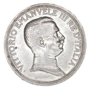 obverse: Regno d Italia. Vittorio Emanuele III. 2 Lire 1916. qFDC