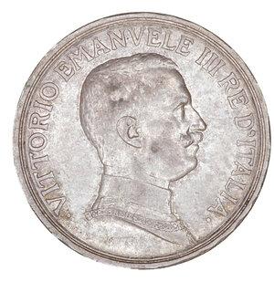 obverse: Regno d Italia. Vittorio Emanuele III. 2 Lire 1915. SPL+