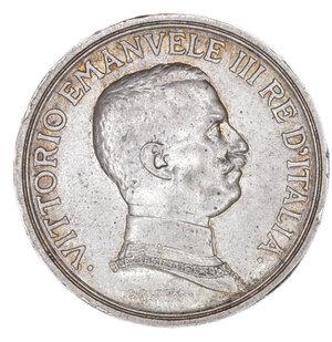 obverse: Regno d Italia. Vittorio Emanuele III. 2 Lire 1914. SPL+