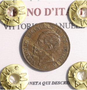 obverse: VITTORIO EMANUELE II. 1 CENT 1867 BB+