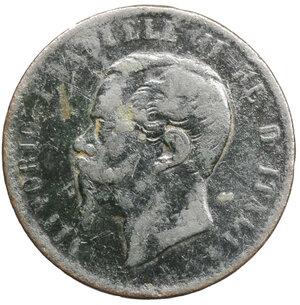obverse: Vittorio Emanuele II. 10 Centesimi 1867 T. MB. Periziato