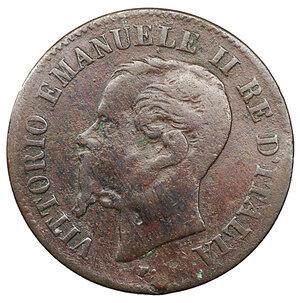 obverse: Vittorio Emanuele II. 2 Centesimi 1861 M. BB. Periziato