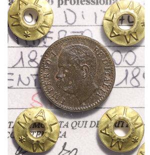 obverse: Umberto I. 1 cent 1895 spl+